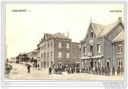LIBRAMONT ..-- Les Hôtels .  Attelage . - Libramont-Chevigny