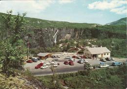 Norway, Voringsfossen Cafeteria, Falls, Auto, Unused 1980 - Norvège