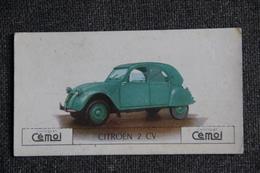 "Chromo, Chocolat CEMOI : Automobile  "" CITROEN 2 CV "" - Chocolate"