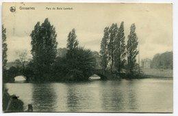 CPA - Carte Postale - Belgique - Gosselies - Parc Du Bois Lombut - 1909 (SV6678) - Charleroi