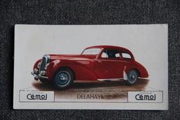 "Chromo, Chocolat CEMOI : Automobile  "" DELAHAYE "" - Chocolate"