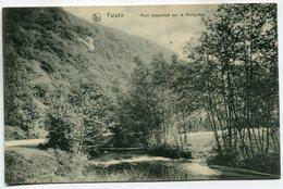 CPA - Carte Postale - Belgique - Falaën - Pont Improvisé Sur La Molignée - 1914 (SV6679) - Onhaye
