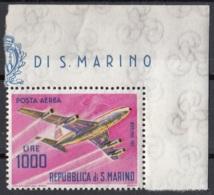 San Marino 1964 Bf. 147 Posta Aerea Aerei Moderni Boeing707 MNH - Aerei
