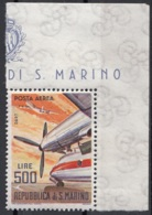 San Marino 1965 Bf. 148 Posta Aerea Aerei Moderni Rolls Royce Dart MNH - Aerei