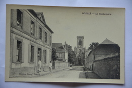 DOZULE -la Gendarmerie-(edition Ferey A Doluze) - France