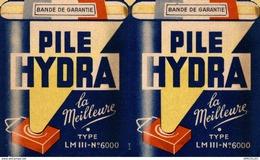REF1810 --2018  CALENDRIER 1949  PILE HYDRA  LE CINQUANTENAIRE - Calendriers