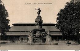 REF1838 TARBES  HALLES MARCADIEU ET FONTAINE - Tarbes