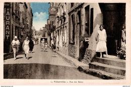 REF 2880 -2018   VILLERVILLE   LA RUE DES BAINS - Villerville