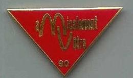 @@ Pin's Mac Donald's Amicalement Votre 1990 (3x1.7) @@md05 - McDonald's
