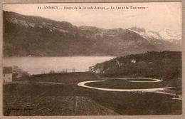 74 / ANNECY - Route En Lacets De La Grande Jeanne, Lac Et Tournette - Annecy