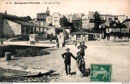 3405 -2018   BOURG-SUR-GIRONDE  Un Coin Du Port - France