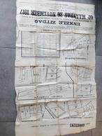 Notaire Goosens Vente De Terre Humbeek, Grimbergen, Wolvertem..... 1917 - Affiches