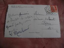 63 Saint Sauveur La Dagne Recette Auxiliaire Obliteration Sur Lettre - Marcophilie (Lettres)