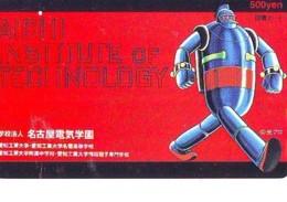 Carte Prépayée Japon * MANGA  * AICHI  (16.691)  COMIC * ANIME Japan PREPAID CARD * CINEMA * FILM - Comics