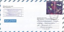 Kazachstan 1999 Semej Space Shuttle Saturnus MIR Cover - Rusland En USSR