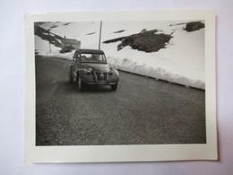 Automobile 2CV Citroën  - Photographie Originale 2 CV - Format  11 X 8,5 - TBE - Cars