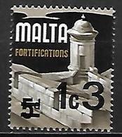 MALTE    -   1972 .   Y&T N° 449 **.   Surchargé - Malta