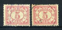 CURACAO 51 Gestempeld 1915-1931 - Cijfer - Curacao, Netherlands Antilles, Aruba