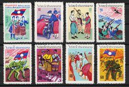 Laos 1961 Prathet Laos 9 + 11 - 17 Postfrisch - Laos