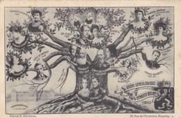 Arbre Généalogique De La Dynastie Belge - 1910 - Généalogie
