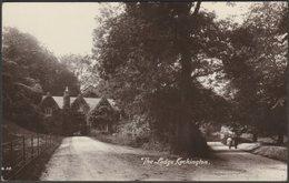 The Lodge, Cockington, Devon, C.1910 - Harvey Barton RP Postcard - Torquay