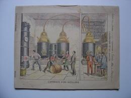 1898 Ancien Cahier D' ECOLIER L'alcoolisme Et Ses Dangers XIXe Siecle MANUSCRIPT - Manuscrits