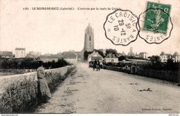8009 - 2018   LE BOURG DE BATZ    L ARRIVEE PAR LA ROUTE DU CROISIC - Francia