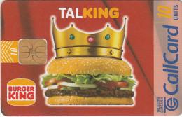 IRELAND - Burger King, 04/97, Used - Ireland