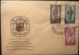 GERMANIA BERLINO  FDC 1955 - [5] Berlino
