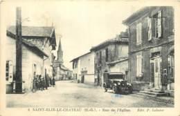 31 - SAINT ELIX LE CHATEAU - Rue De L'eglise - Auto - Autres Communes