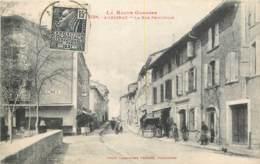 31 - AURIGNAC - La Rue Principale En 1931 - Autres Communes