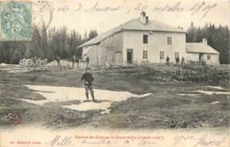 39 - BOIS D'AMONT - Caserne Des Douanes De Chaux-Seche En 1905 - Otros Municipios
