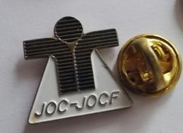 Pin's A Identifié  JOC-JOCF - Autres