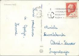 "Yugoslavia 1968  - Slogan / Flamme ,,Medzunarodna Izlozba Rijeka "" - 1945-1992 République Fédérative Populaire De Yougoslavie"