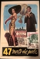 CARTOLINA TOTO' 47 MORTO CHE PARLA - Altre Collezioni