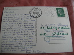 Vaire  Recette Auxiliaire Obliteration Sur Lettre - Marcophilie (Lettres)
