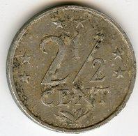 Antilles Neérlandaises Netherlands Antilles 2 1/2 Cents 1979 KM 9a - Antilles Neérlandaises