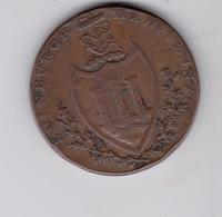 Half Penny  1790 Edinburgh - Monarquía/ Nobleza