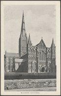 Salisbury Cathedral, Wiltshire, C.1910s - NSD Reward Card Postcard - Salisbury