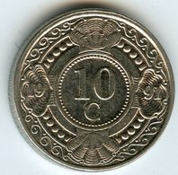 Antilles Neérlandaises Netherlands Antilles 10 Cents 1991 KM 34 - Netherland Antilles
