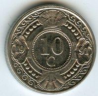 Antilles Neérlandaises Netherlands Antilles 10 Cents 1991 KM 34 - Antillen (Niederländische)