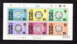 FALKLAND  ISLANDS    1980    International  Stamp  Exhibition   Sheetlet    MNH - Falkland Islands