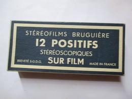 AIGUES MORTES  - 12 Positifs Stéréoscopiques Sur Film -  Bruguière - Parfait Etat - Stereoscopic