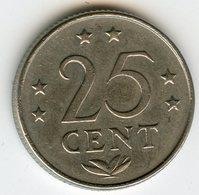Antilles Neérlandaises Netherlands Antilles 25 Cents 1976 KM 11 - Antilles Neérlandaises