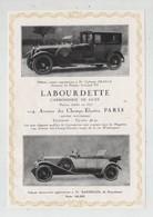 Publicité 1924 Labourdette Paris Anatole France Bakirgian - Werbung