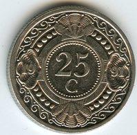 Antilles Neérlandaises Netherlands Antilles 25 Cents 1991 KM 35 - Antillen (Niederländische)