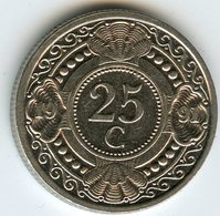 Antilles Neérlandaises Netherlands Antilles 25 Cents 1991 KM 35 - Antilles Neérlandaises