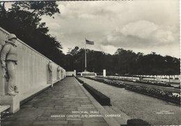 Cambridge . American Cemetary And Memorial. United Kingdom. 3 Cards.  A-22 - Cambridge