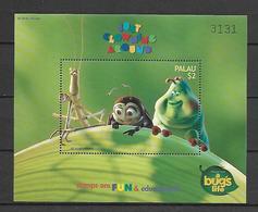 Disney Palau 1998 A Bug's Life MS #3 MNH - Disney