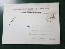 (12109) ITALIA STORIA POSTALE 1973 - 6. 1946-.. Repubblica